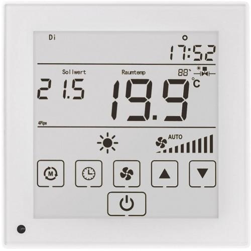Регулятор температуры LCF02 Touch white