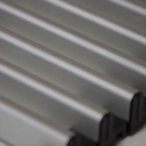 DR 15.145-AL-r рулонная решётка  145 мм, алюминий